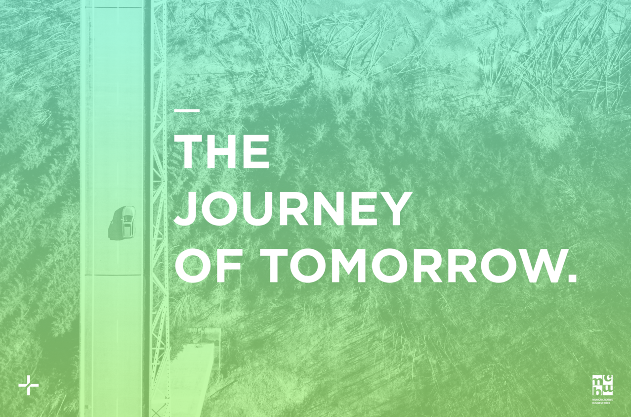 Experience the journey of tomorrow.
