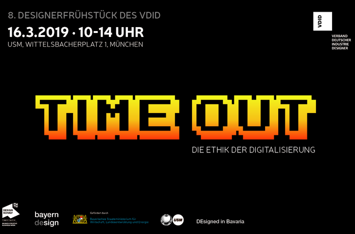 8th Designers' Breakfast: TIME OUT! Ethics of digitization