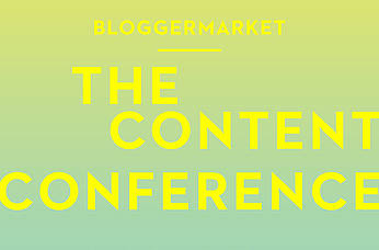 Blogger Market – The Content Conference